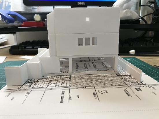 建物が完成
