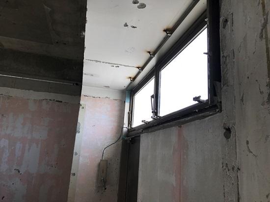 排煙設備となっている窓