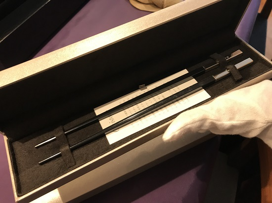 クリストフルのお箸
