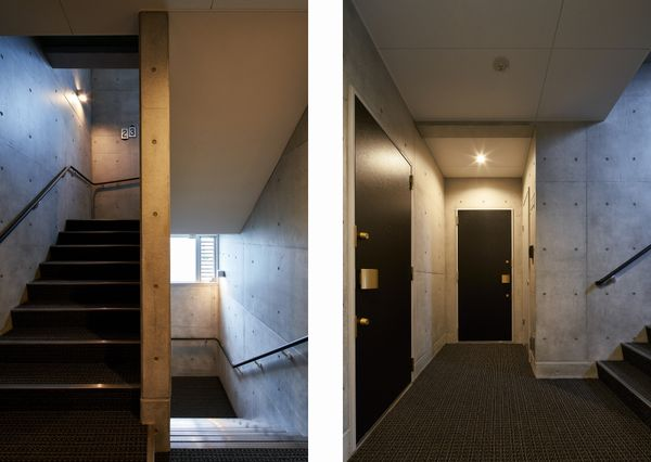 RumieR AshiyA 階段ホール