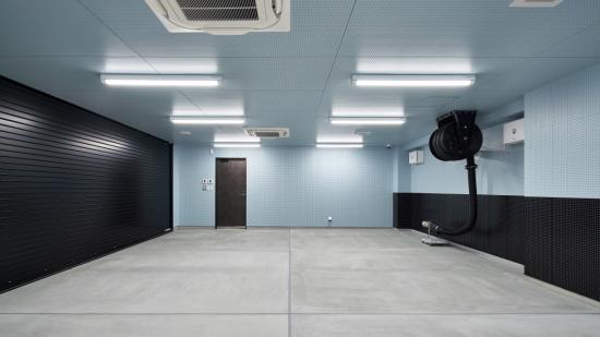 RC Garage House:ビルトインガレージ内部