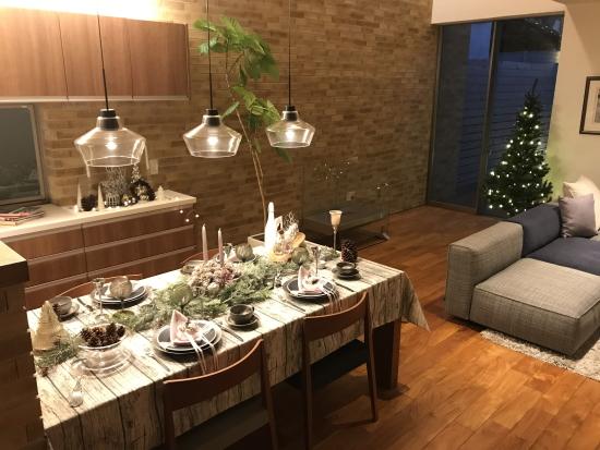 2020年家族と過ごす森のクリスマス