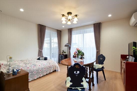 RC住宅寝室などの居室はすべて南向きに配置