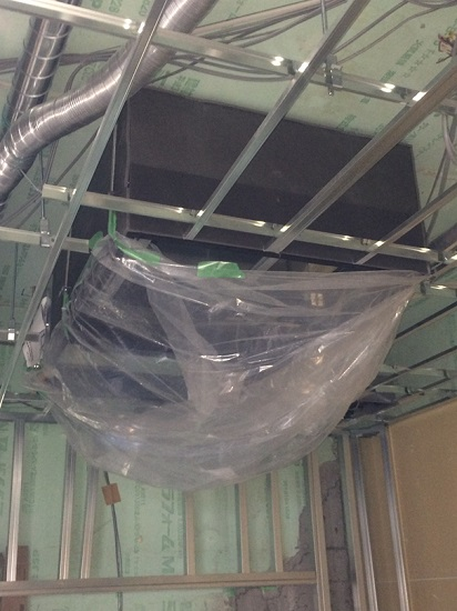 手術室のクリーンエアコン