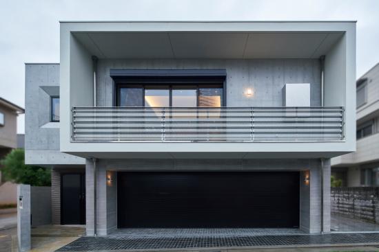 RC Garage House:外観2